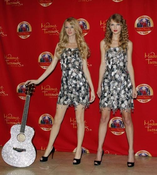 Taylor wax figure