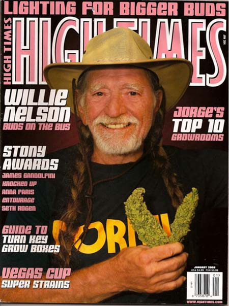 Image result for willie nelson high times