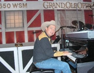 Levi at the Grand Ole Opry