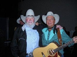 Levi and Charlie Daniels