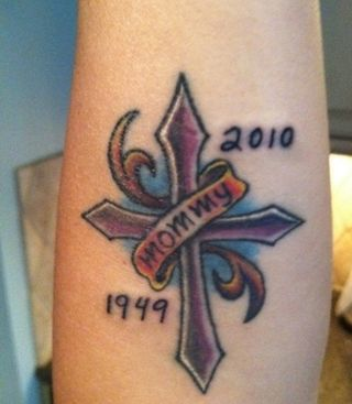 Terri Clark new mom tattoo