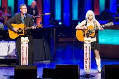 Vince Gill and Emmylou Harris