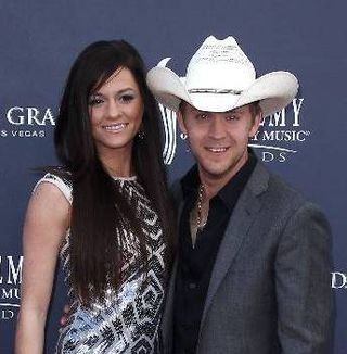 Justin Moore and Kate
