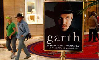 Garth in vegas