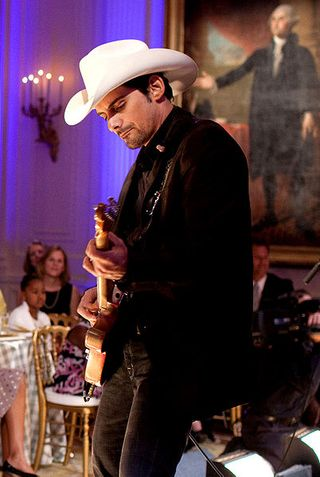 Brad Paisley at the White House
