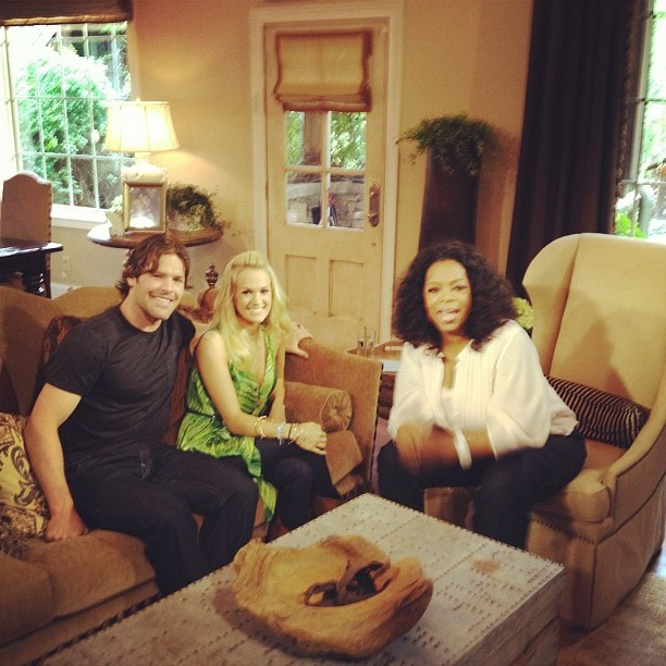 Mike, carrie, oprah