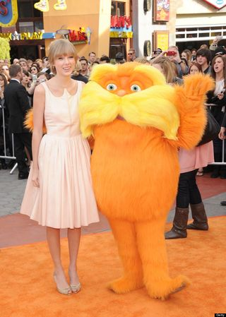 Taylor Swift with The Lorax