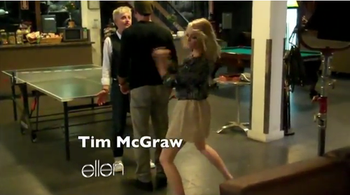 Ellen Emma Stone Tim McGraw