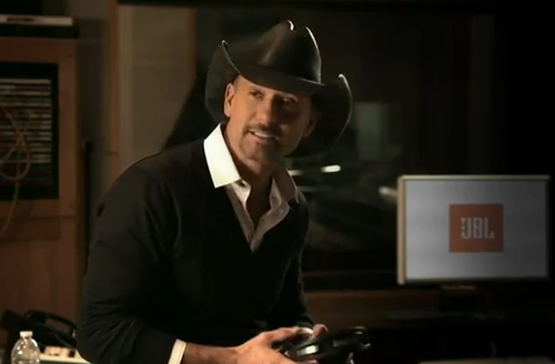 Tim McGraw headphones
