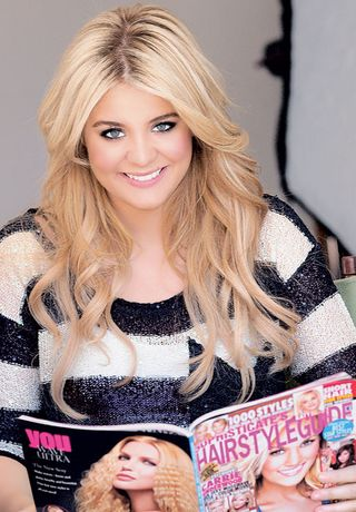 Lauren Alaina hair magazine
