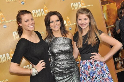 Martina McBride and daughters