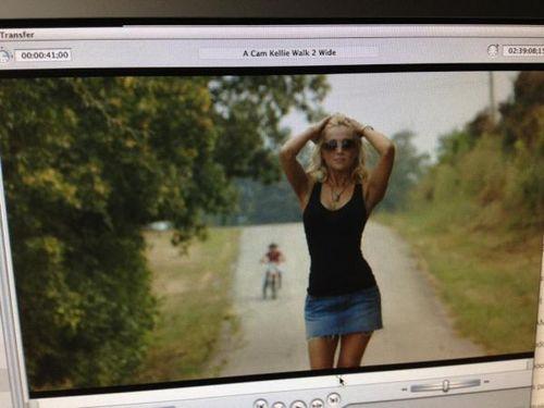 Kellie Pickler sexy Bucky video