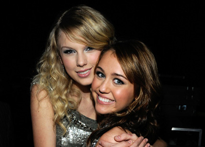 Miley and Taylor