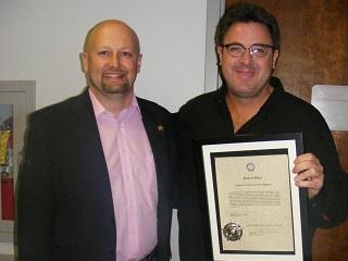 Vince honorary deputy