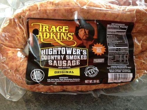 Trace Adkins sausage