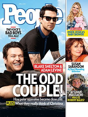 Blake Shelton on People Magazine