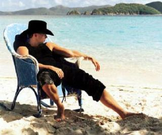 Kenny chesney blue chair