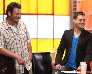 Blake and Michael buble