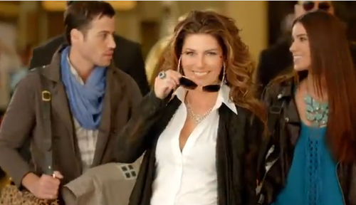 Shania Caesars palace commercial