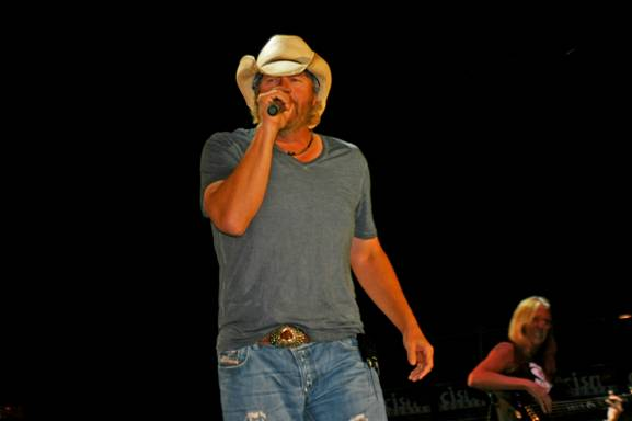 Toby Keith Big Valley Jamboree