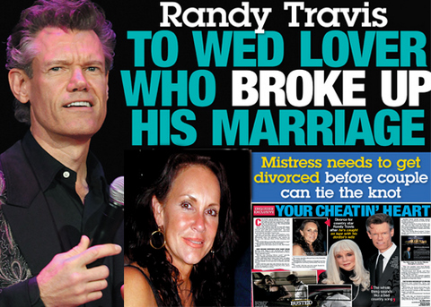 Randy Travis mary beough national enquirer