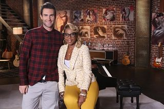 Mary J. Blige team Adam