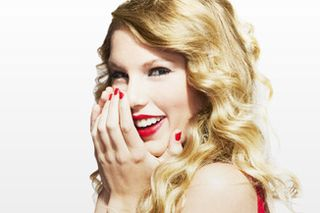 Taylor swift smiles