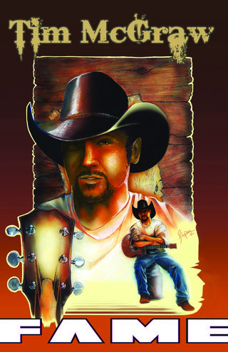 Tim McGraw comic book