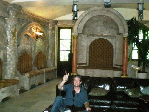 Blake Shelton Hollywood home