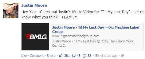 Justin Moore Til My Dying Day