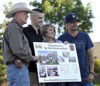 Kid Rock gives veteran home