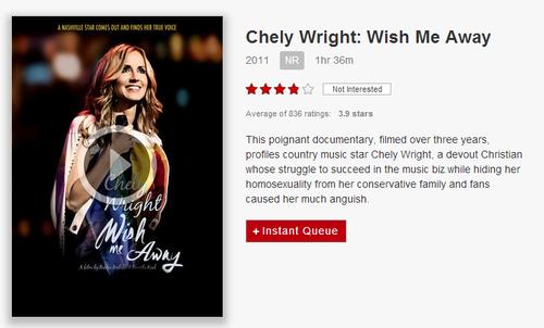 Chely Wright Wish Me Away