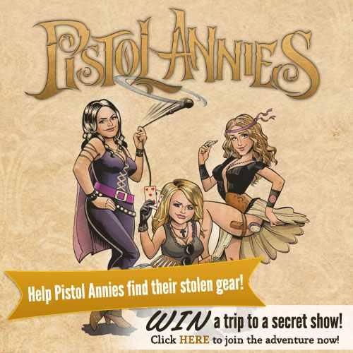 Pistol Annies cartoon