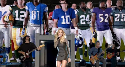 Faith Hill Sunday Night Football