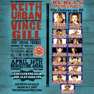 All for the hall Keith Urban