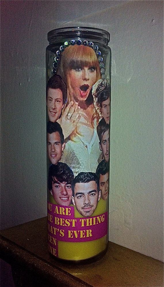 Taylor Swift candle