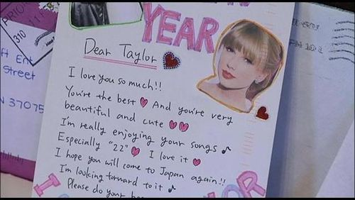 Taylor Fan letter