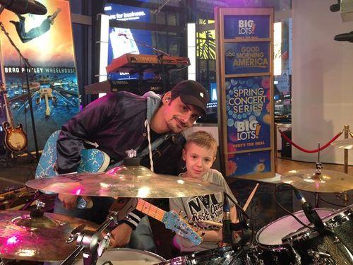 Brad and Avery
