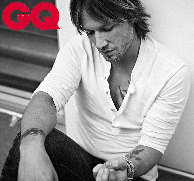 Keith Urban GQ