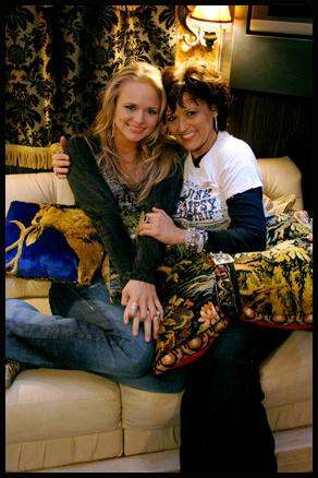 Miranda and mom