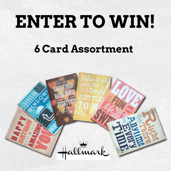 Keith Urban Hallmark card pack to win