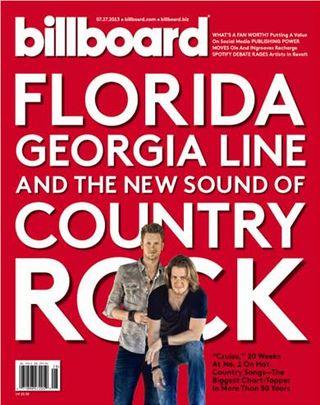 Florida Georgia Line on Billboard