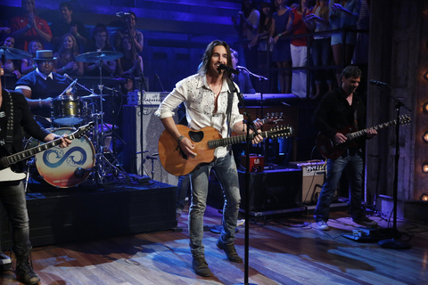 Jake owen late night