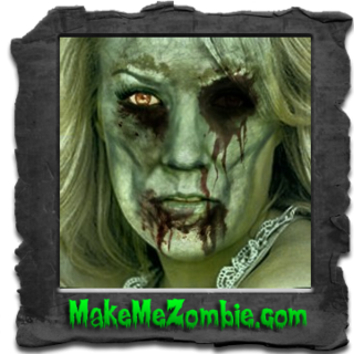 Carrie Underwood zombified