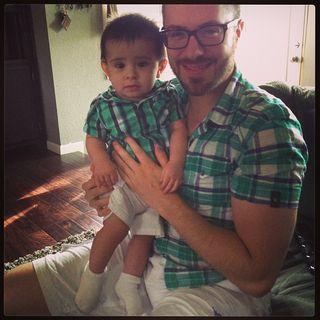 Danny gokey and son