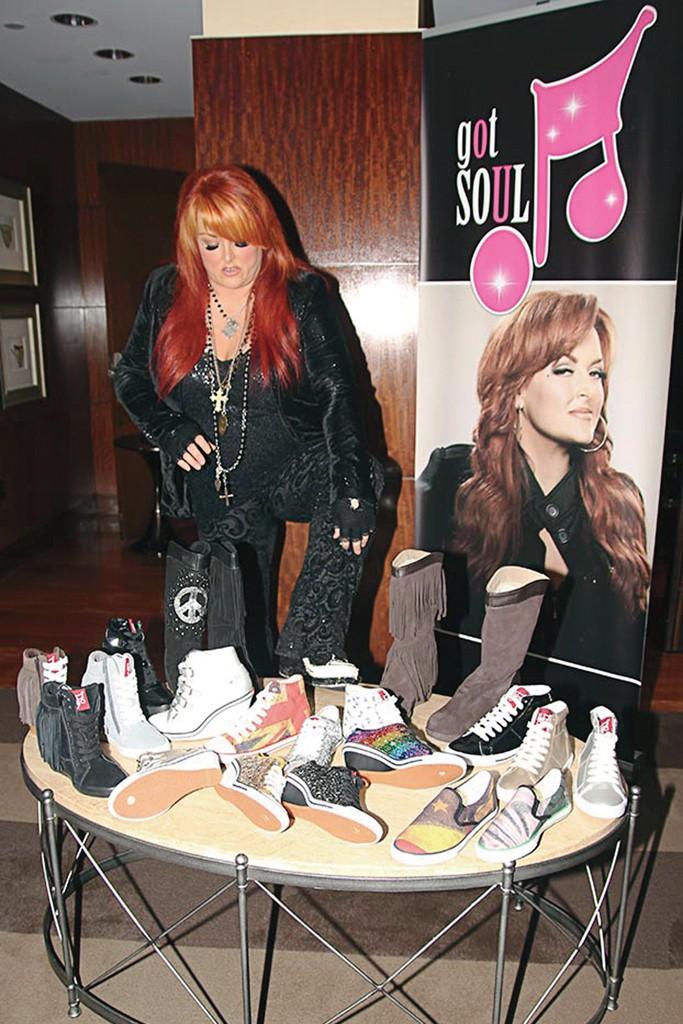 Wynonna Judd shoes