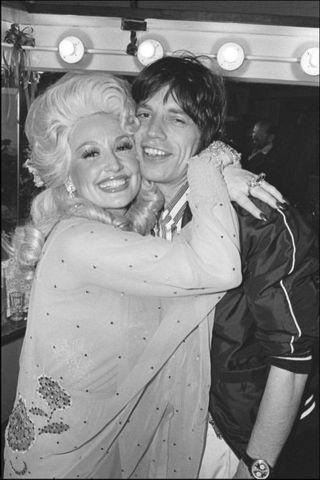 Dolly-Parton-and-Mick-Jagger