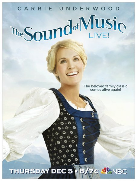 Carrie Sound of Music poster