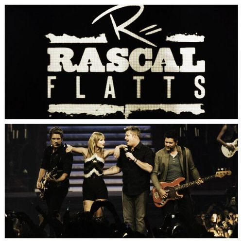 Rascal flatts Taylor Swift