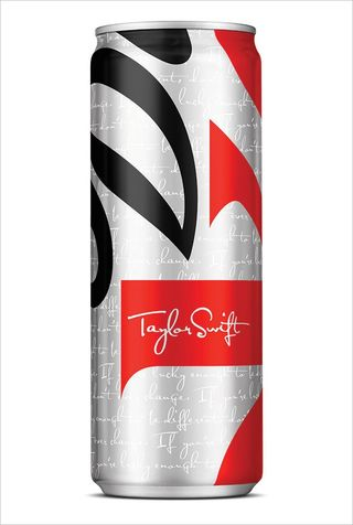 Taylor Swift coke can